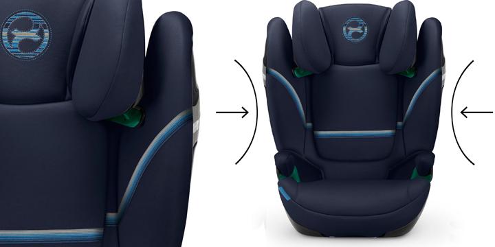 c06 - Cybex Solution S i-Fix - fotelik samochodowy 15-36 kg kolor Granite Black