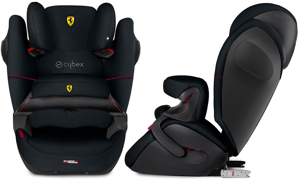 cybex pallas m fix sl for scuderia ferrari on track. Black Bedroom Furniture Sets. Home Design Ideas
