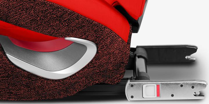 c06 - Cybex Solution Z-Fix fotelik samochodowy 15-36 kg kolor Soho Grey
