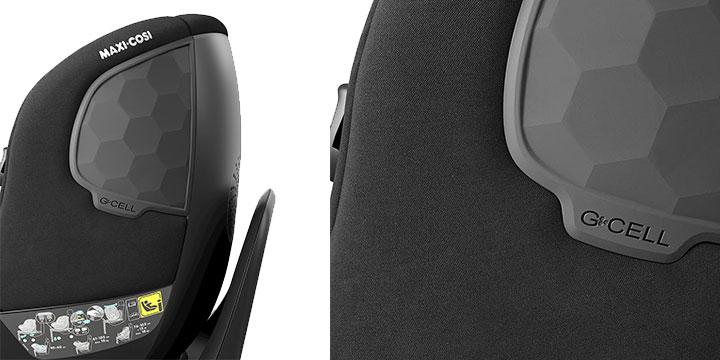 maxi cosi mica 005 - Maxi-Cosi Mica 40 do 105 cm/18 kg obrotowy fotelik samochodowy kolor Authentic Graphite