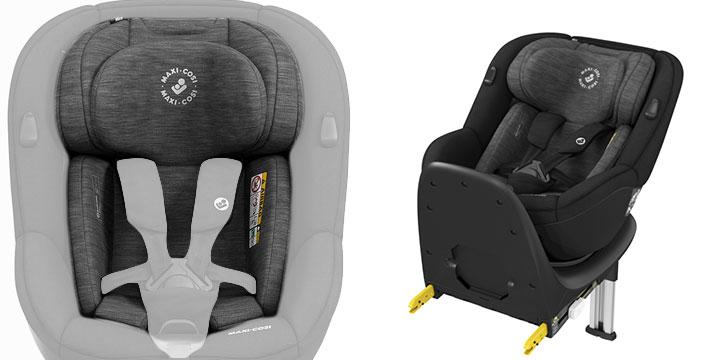 maxi cosi mica 006 - Maxi-Cosi Mica 40 do 105 cm/18 kg obrotowy fotelik samochodowy kolor Authentic Graphite