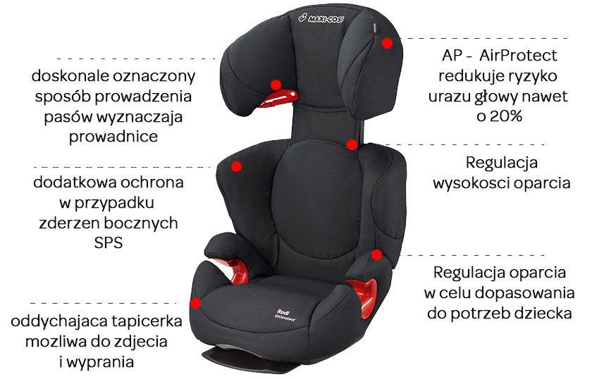 maxi cosi rodi ap air protect fotelik 15 36kg. Black Bedroom Furniture Sets. Home Design Ideas