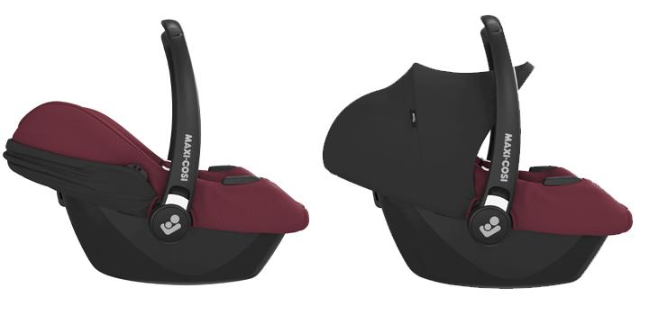 c01 - Maxi-Cosi Tinca i-Size (45-75 cm) kolor Essential Black