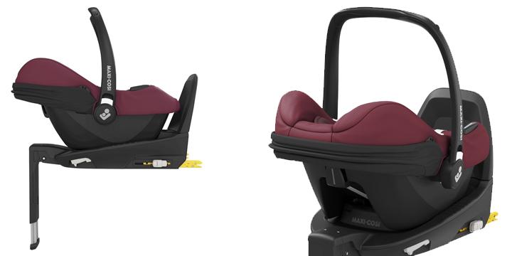 c06 - Maxi-Cosi Tinca i-Size (45-75 cm) kolor Essential Black