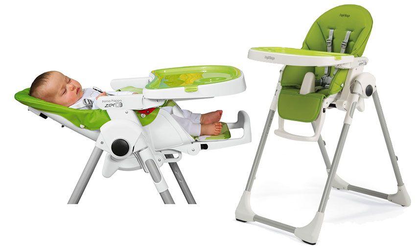 f745671cb PEGPEREGO PRIMA PAPPA ZERO 3 - krzesełko do karmienia z funkcją leżaczka