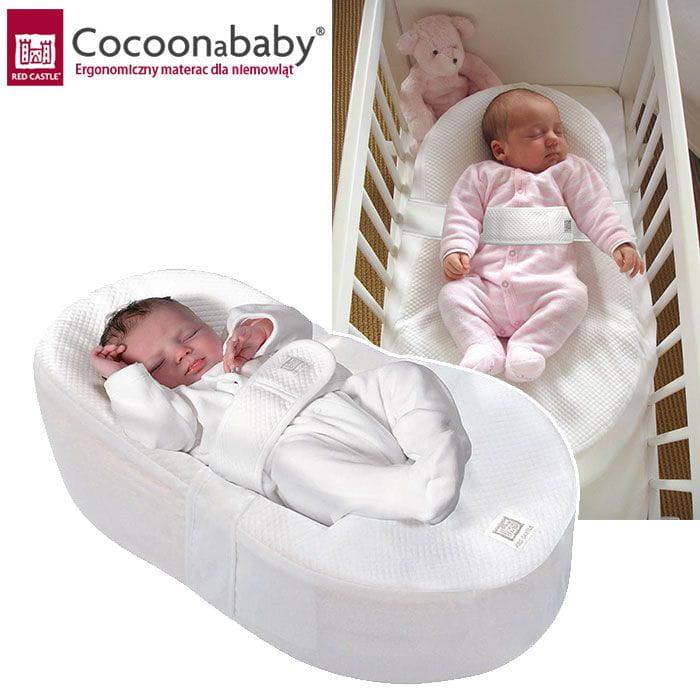 cocoonababy red castle ergonomiczny materac dla niemowl t. Black Bedroom Furniture Sets. Home Design Ideas