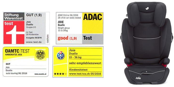 68138 - Joie Duallo fotelik samochodowy 15-36 kg kolor Tuxedo
