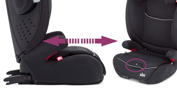 68151 - Joie Duallo fotelik samochodowy 15-36 kg kolor Tuxedo