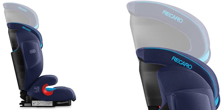 69071 - Recao Monza Nova 2 Seatfix - fotelik samochodowy 15-36 kg kolor Select Teal Green